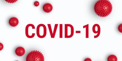 Inscription COVID-19 on white background. World Health Organization WHO introduced new official name for Coronavirus disease named COVID-19; Shutterstock ID 1642888921; Nom de  Projet : -